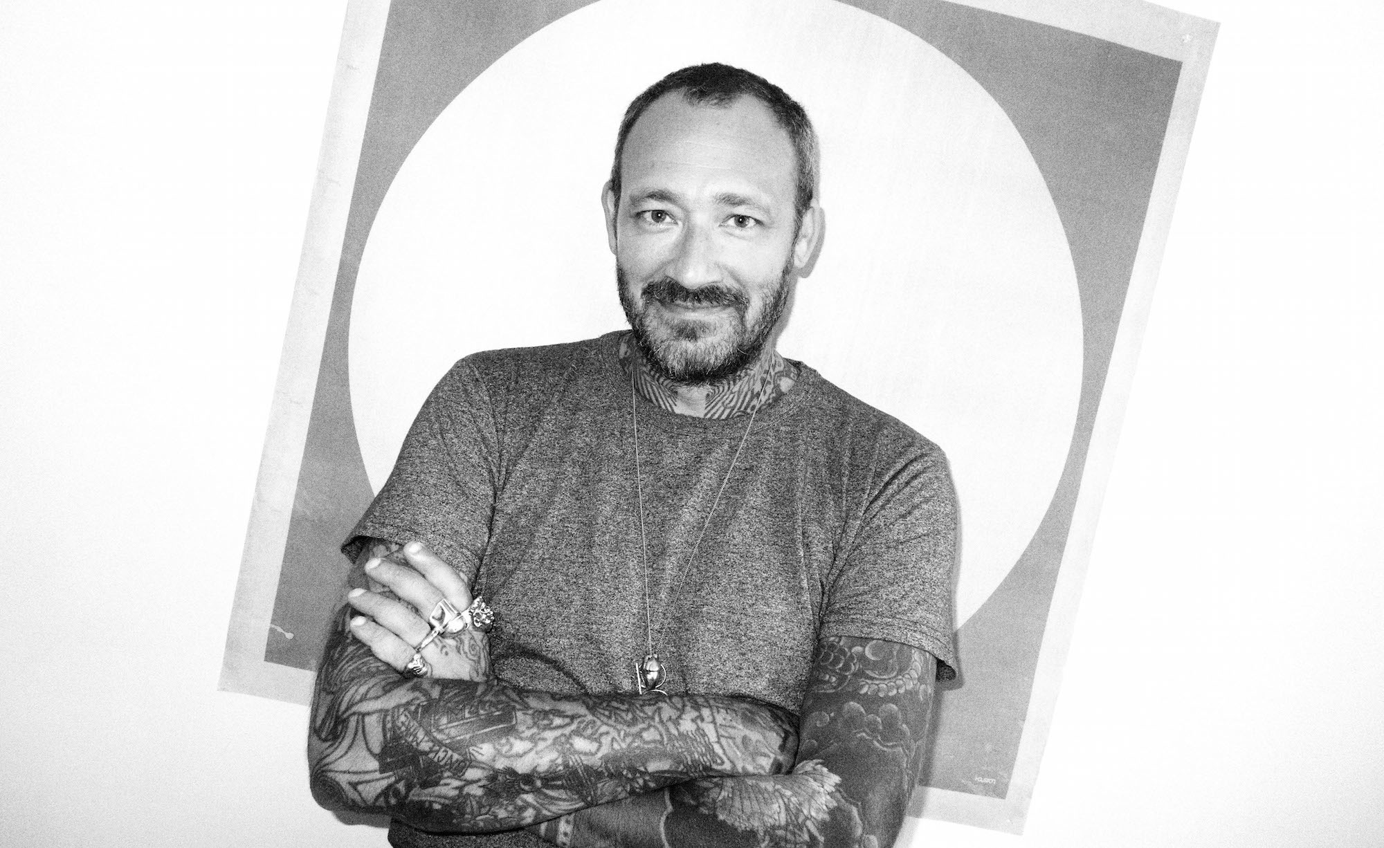 I-D MAGAZINE: JK5, the tattoo artist who seduced rei kawakubo